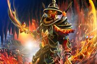 Fires of the Volcanic Guard Loading Screen