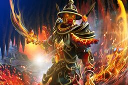 Cosmetic icon Fires of the Volcanic Guard Loading Screen.png