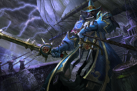 Loading Screen of the Witch Hunter Templar