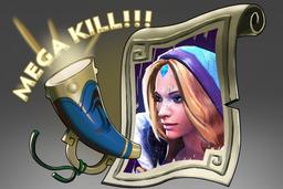 Cosmetic icon Mega-Kills Crystal Maiden.png