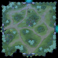 Minimap Aghanim's Labyrinth Arrows Of The Moon.png