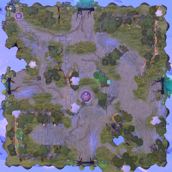 Minimap Aghanim's Labyrinth Tiny and Io - Elemental Adventure.png