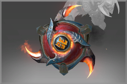Cosmetic icon Buckler of the Ember Demons.png