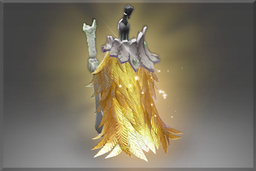 Cosmetic icon Golden Ornithomancer Mantle.png