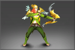 Cosmetic icon Wings of the Gilded Falcon Set.png