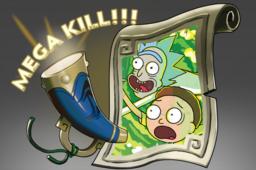 Cosmetic icon Mega-Kills Rick and Morty.png