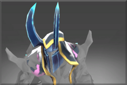 Cosmetic icon Horned Helm of the Frozen Apostle.png