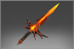 Cosmetic icon Scorched Amber Sword.png