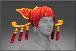 Cosmetic icon Headdress of the Ember Crane.png