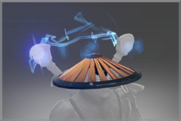 Cosmetic icon Hat of the Stormcharge Dragoon.png
