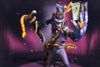 Загрузочный экран: Devilish Conjurer