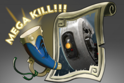 Cosmetic icon Mega-Kills GLaDOS.png