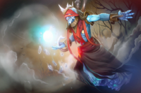 Garb of the Frost Lord Loading Screen