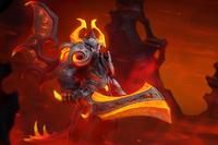 Загрузочный экран: Eternal Fire