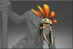 Cosmetic icon Tribal Megadon Mask.png
