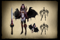 Envisioning Queen of Pain Loading Screen