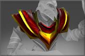 Crimson Wyvern Shoulders