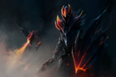 Knight of the Burning Scale Loading Screen