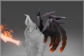 Raven's Flame Back