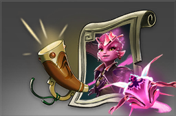 Cosmetic icon Dark Willow Announcer Pack.png