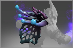 Cosmetic icon Flower of the Sapphire Shroud.png