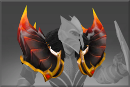 Cosmetic icon Pauldrons of the Fire Dragon.png