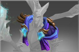 Cosmetic icon Secrets of the Celestial Shoulder.png