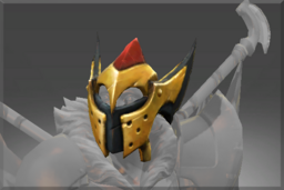 Cosmetic icon Compendium Arms of the Onyx Crucible Helmet.png