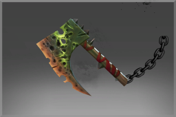 Cosmetic icon Hatchet of the Nurgle Champion.png