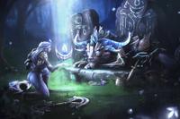 Загрузочный экран: Nightsilver's Resolve
