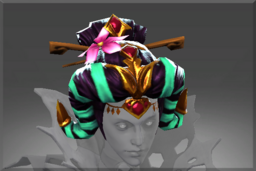 Cosmetic icon Fatal Blossom Hairdress.png