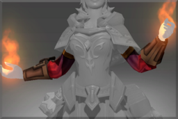 Cosmetic icon Bracers of Smoldering Journey.png