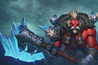 Loading Screen of the Snowpack Savage