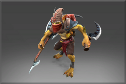 Cosmetic icon Hunter of the Blood Stained Sands Set.png