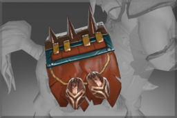 Cosmetic icon Warlord of Hell Barding.png