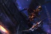 Загрузочный экран: Creeping Shadow