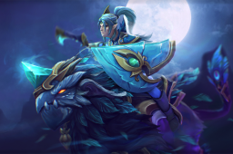 Cosmetic icon Spirit of the Emeraldine Rider Loading Screen.png