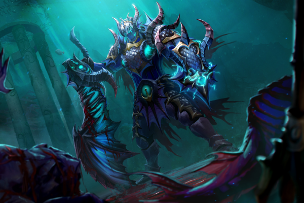 Dota 2 Wiki: Meranth Dragoon Loading Screen