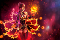 Bewitching Flare Loading Screen