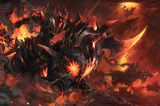 Burning Nightmare Loading Screen
