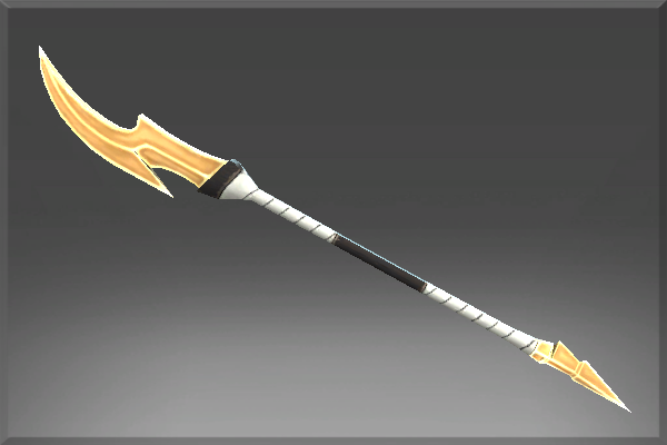 The weapon of the halberd in DotA 2