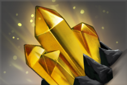 Cosmetic icon Gold Spectator Gem.png