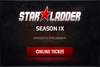 SLTV Star Series Season 9 Ticket