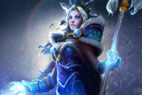 Ascendant Crystal Maiden Loading Screen