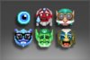 Pacote de Emoticons do International 2017 III