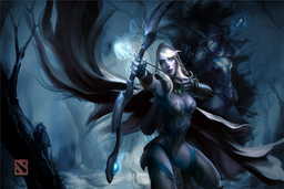 Cosmetic icon Traxex the Drow Ranger.png