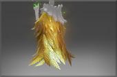Golden Ornithomancer Mantle of the Benefactor