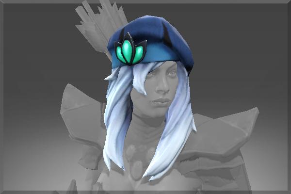 Drow Ranger S Mania S Mask Immortal: Lone Traveler's Beret