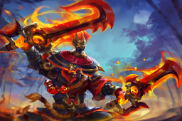 Cosmetic icon Master of the Searing Path Loading Screen.png