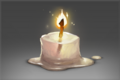 Candle of Incandescent Wax